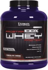Ultimate Nutrition Prostar 100% Whey Protein - 5lbs Raspberry