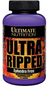Ultimate Nutrition Ultra Ripped - 180 Capsules