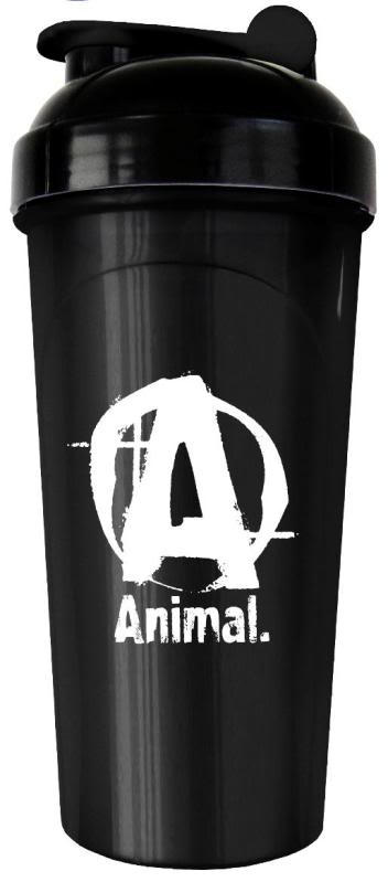 Universal Nutrition Animal Shaker - 25oz Black/White
