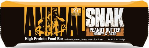 Universal Nutrition Animal Snak Bars - 1 Bar Peanut Butter Honey & Oat