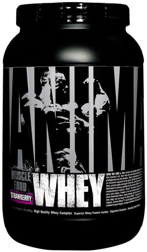 Universal Nutrition Animal Whey - 2lbs Strawberry