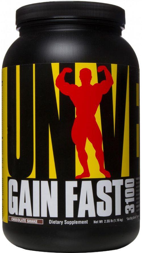 Universal Nutrition Gain Fast 3100 - 2.55lbs Chocolate Shake