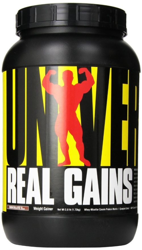 Universal Nutrition Real Gains - 3.8lbs Chocolate Ice Cream