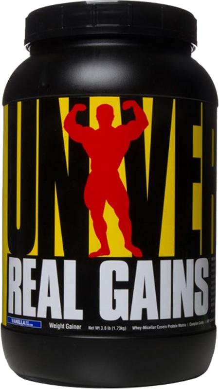 Universal Nutrition Real Gains - 3.8lbs Vanilla Ice Cream