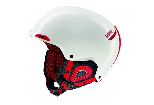 Uvex JAKK+ Helmet - white/red, 52-55