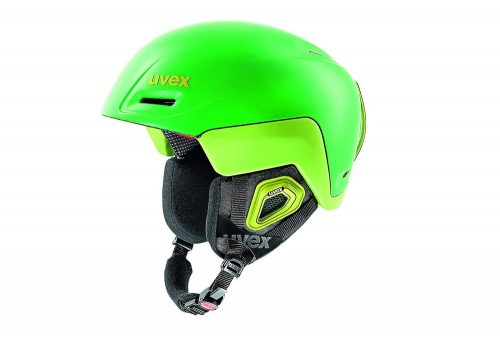 Uvex Jimm Octo+ Helmet - green lemon mat, 55-59