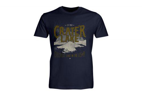 Wilder & Sons Crater Lake National Park Short Sleeve T-Shirt - Men's - navy, small