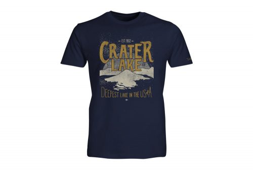 Wilder & Sons Crater Lake National Park Short Sleeve T-Shirt - Men's - navy, small