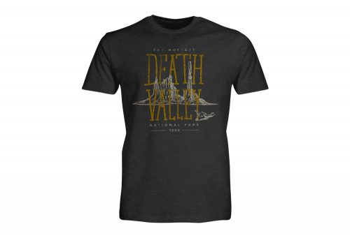Wilder & Sons Death Valley National Park Short Sleeve T-Shirt - Men's - charcoal heather, small