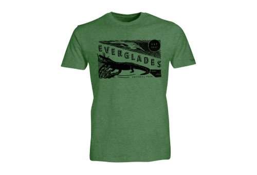 Wilder & Sons Everglades National Park Short Sleeve T-Shirt - Men's - heather green, small