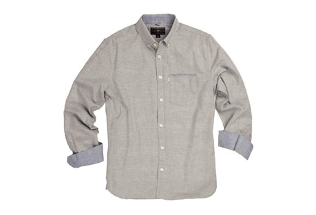 Wilder & Sons Hawthorne Long Sleeve Button Down Shirt - Men's