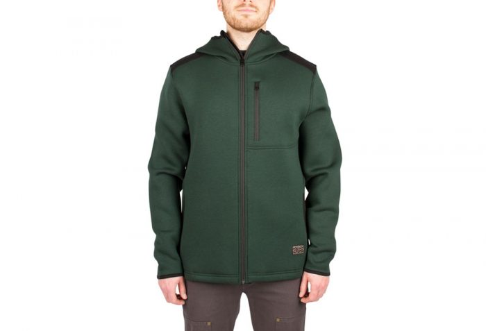 Wilder & Sons Kellogg Tech Hoodie - Men's - dark green, large