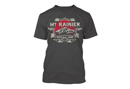 Wilder & Sons Mount Rainier National Park Short Sleeve T-Shirt - Men's