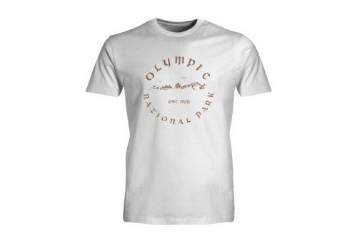 Wilder & Sons Olympic National Park Short Sleeve T-Shirt - Men's - white, small
