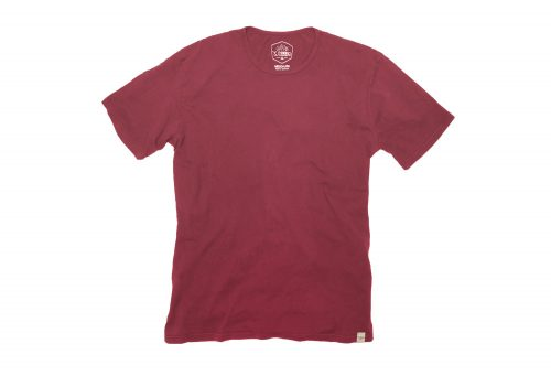 Wilder & Sons Signature Cotton Tee - Men's - burgundy, small
