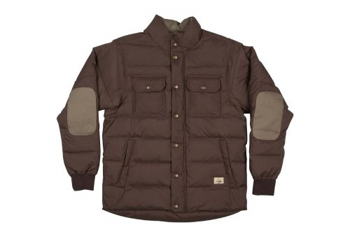 Wilder & Sons Wallowa Down Jacket - Men's - vintage brown, large