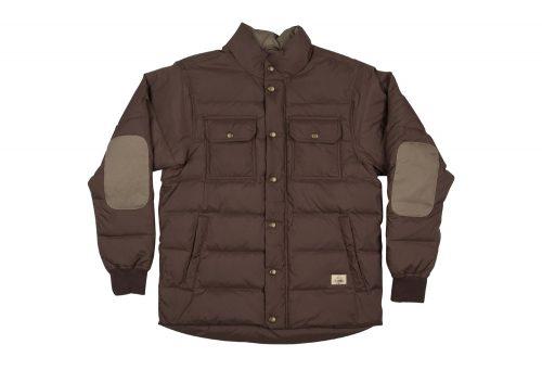 Wilder & Sons Wallowa Down Jacket - Men's - vintage brown, x-large