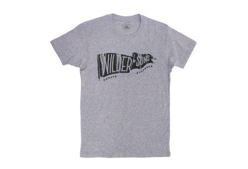 Wilder & Sons Wilder Banner T-Shirt - Men's - athletic heather, medium