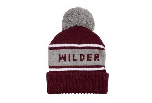Wilder & Sons Wilder Pom Beanie - burgundy, one size