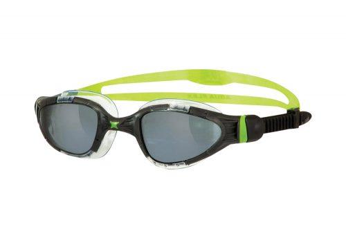 Zoggs Aqua Flex L/XL Goggles - black/green, one size