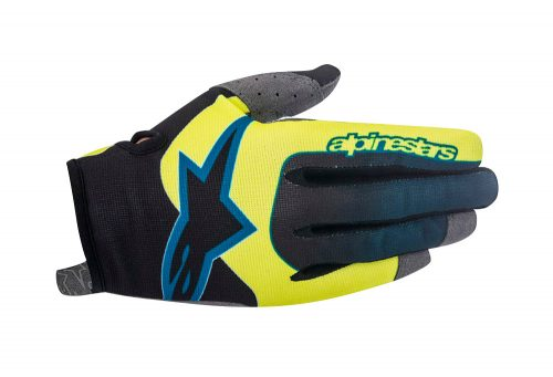 alpinestars Vector Glove - acid yellow/black, small
