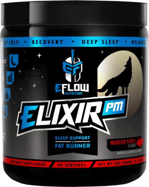 eFlow Nutrition ELIXIR PM - 40 Servings Warrior Punch