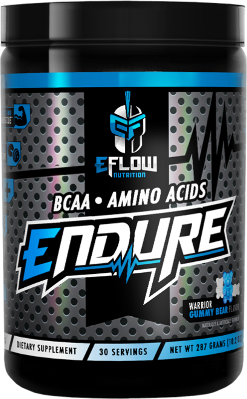 eFlow Nutrition ENDURE - 30 Servings Warrior Gummy Bear