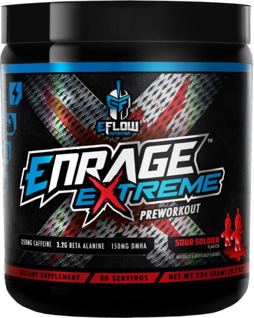 eFlow Nutrition Enrage Extreme - 30 Servings Sour Soldier