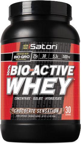 iSatori 100% Bio-Active Whey - 2.33lbs Chocolate Sensation