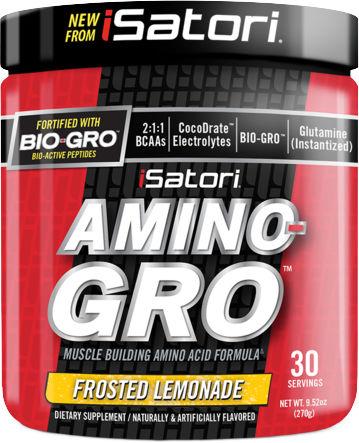 iSatori AMINO-GRO - 30 Servings Frosted Lemonade
