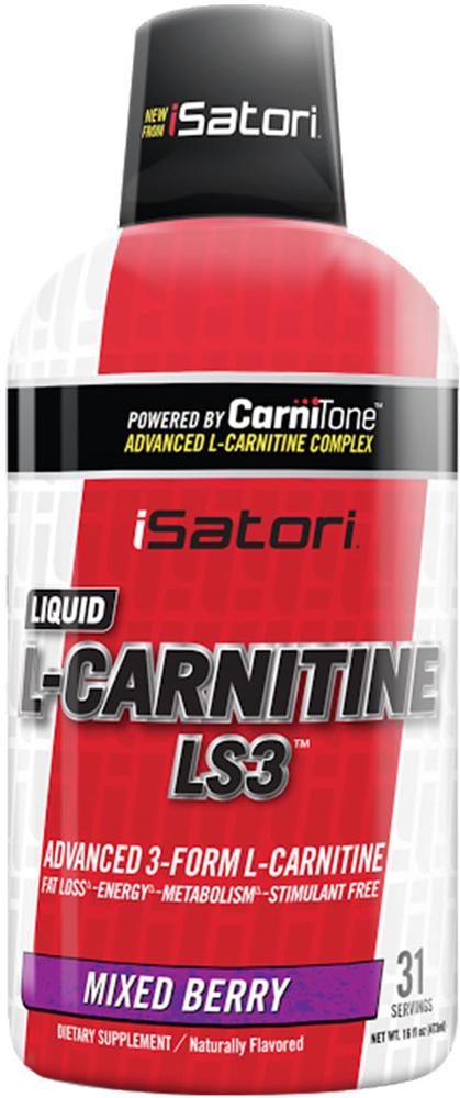 iSatori L-Carnitine LS3 - 16oz Mixed Berry