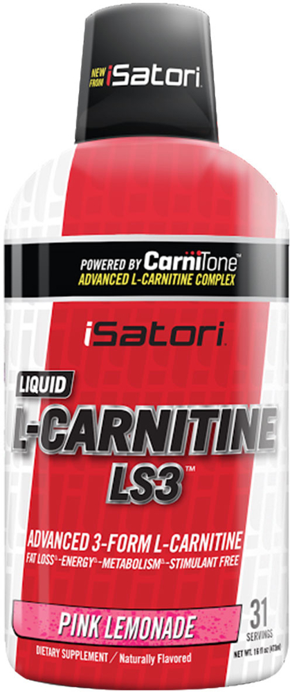 iSatori L-Carnitine LS3 - 16oz Pink Lemonade