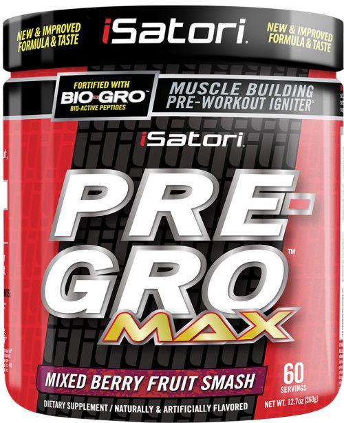 iSatori Pre-Gro Max - 60 Servings Mixed Berry Fruit Smash