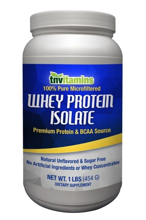 100% Pure Whey Protein Isolate Powder - Unflavored