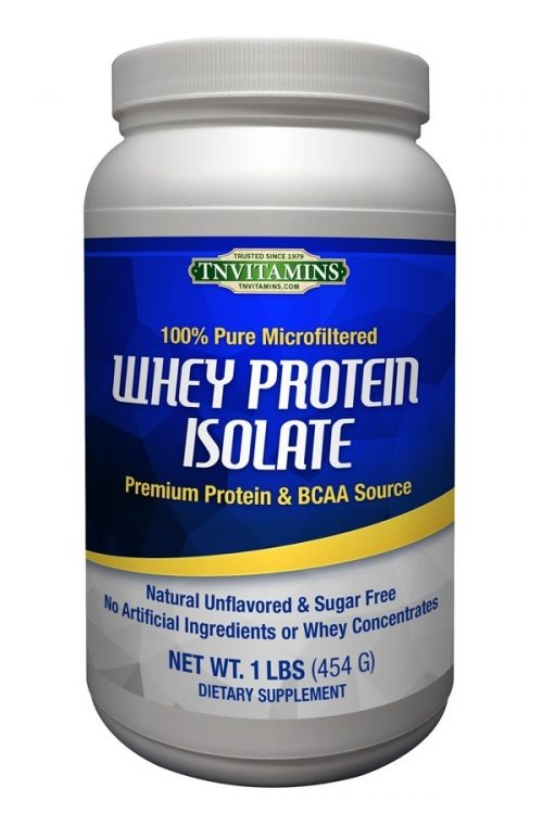 100% Pure Whey Protein Isolate - Unflavored