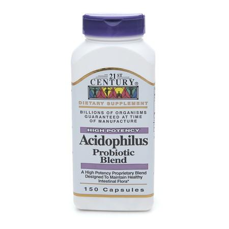 21st Century Acidophilus, High-Potency, Capsules - 150 ea