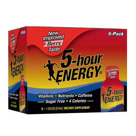 5-Hour Energy Dietary Supplement Shot Berry - 1.93 oz.