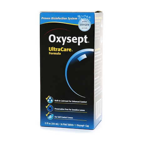 AMO Oxysept Disinfecting Solution - 1 ea