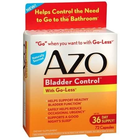 AZO Bladder Control, Capsules - 72 ea