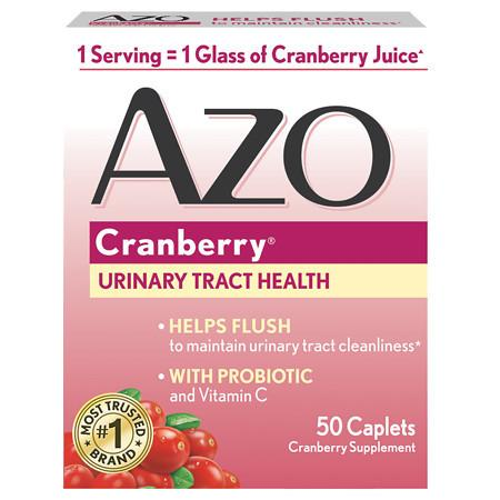 AZO Cranberry Dietary Supplement Tablets - 50 ea