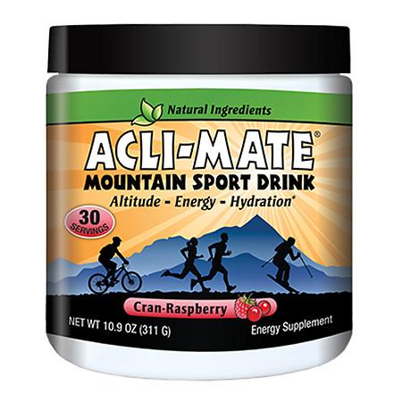 Acli-Mate Mountain Sport Drink Altitude & Energy Aid Cran-Raspberry - 13.8 oz.