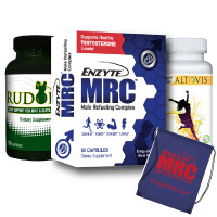 Active Male Care Package with Enzyte MRC Testosterone Support, Energy, Joint Care, and Free Workout Bag