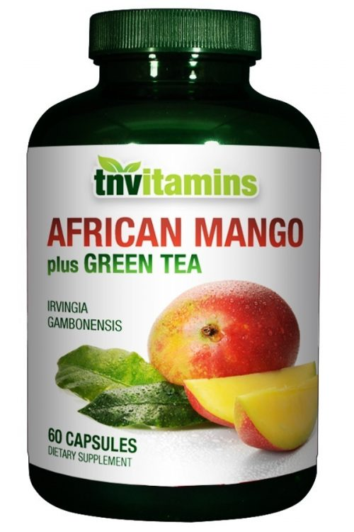 African Mango (Irvingia Gabonensis) with Green Tea