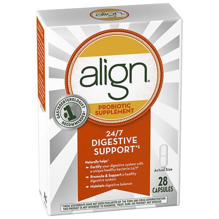Align Digestive Care Probiotic Supplement Capsules - 28 ea