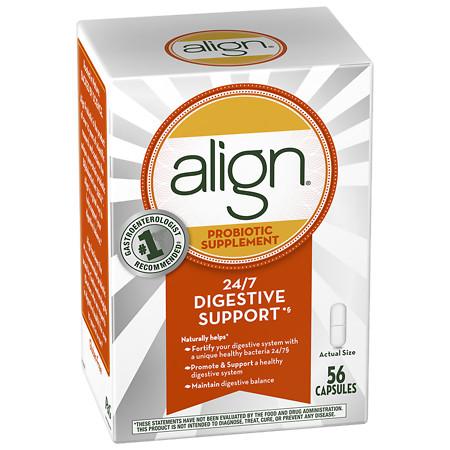Align Digestive Care Probiotic Supplement Capsules - 56 ea
