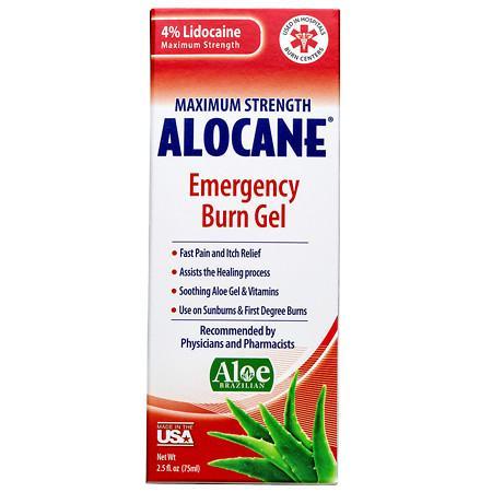 Alocane Maximum Strength Emergency Room Burn Gel - 2.5 fl oz