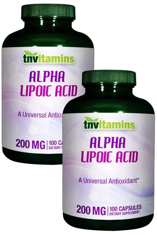 Alpha Lipoic Acid 200 Mg.