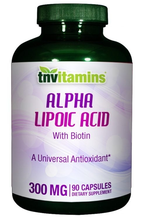 Alpha Lipoic Acid 300 Mg With Biotin
