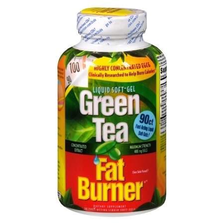 Applied Nutrition Green Tea Fat Burner, Liquid Soft-Gels - 90 ea