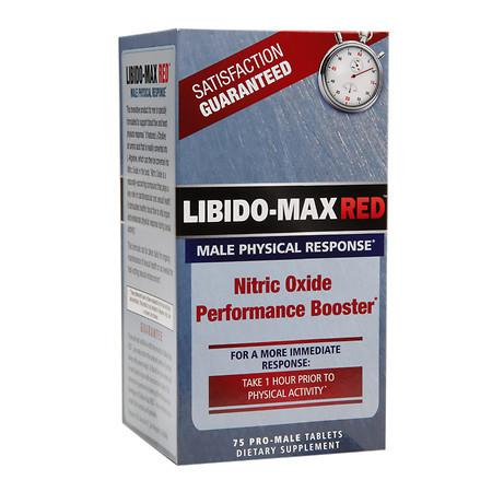 Applied Nutrition Libido-Max RED Male Physical Response - 75 ea